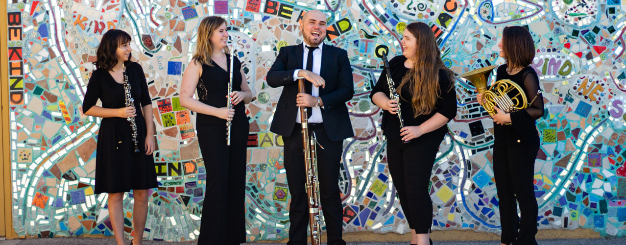 Fred Fox Graduate Wind Quintet 2019