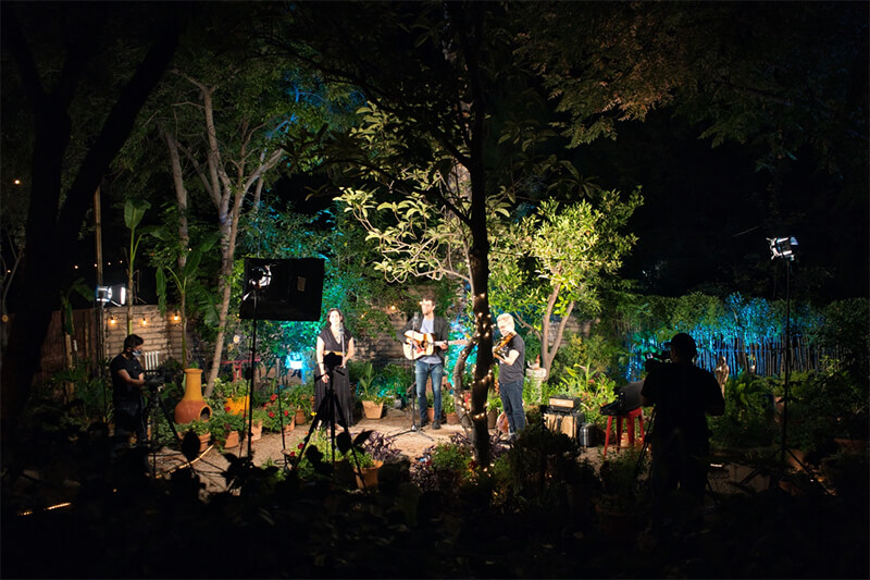 Photo of video shoot