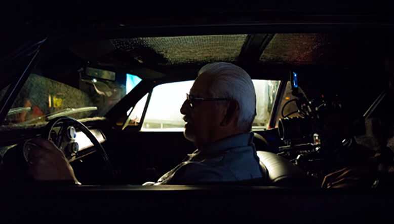 Photo of Martin Martinez in a car