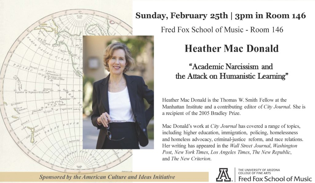 """Academic Narcissism and the Attack on Humanistic Learning"""" – Heather"""