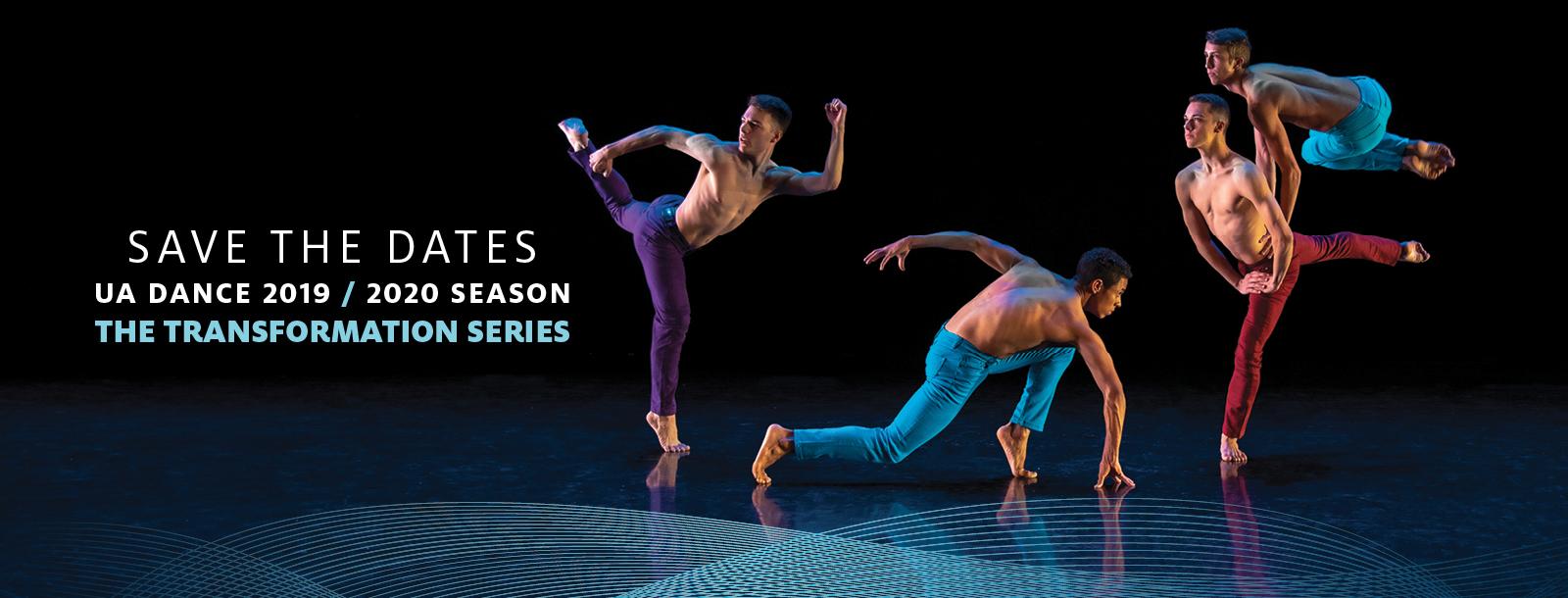 UA Dance 2019-20 Save the Dates