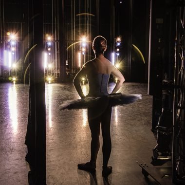 Photo by Ed Flores featuring UA Dance Ensemble member Hayley Meier.